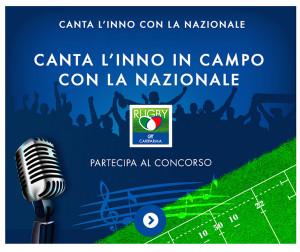 Canta l'Inno in campo con la Nazionale