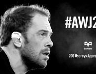 #AWJ200: Alun Wyn Jones-Ospreys, da questa sera sarà leggenda
